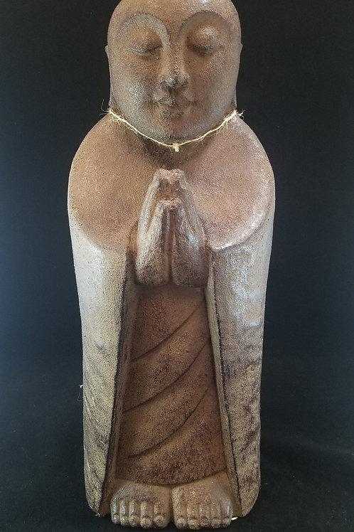 Stone-Carved Praying Buddha
