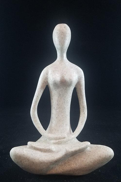 Soapstone Yogi Statue