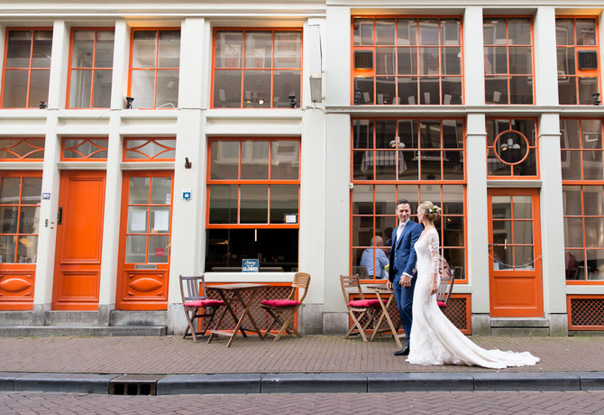 Wedding fotoshoot in Amsterdam