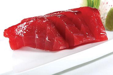 Rote Thunfisch-Sashimi