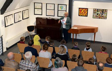 Vernissage 8.12.2019 Ausstellung Bilder der Kinder der Kindertagesstätte Albertino Jockgrim