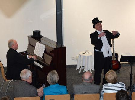 Berliner Abend mit Klaus Hammer und Georg Metz