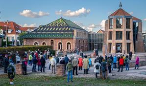 Eröffnung Kunstweg Jockgrim im Oktober 2020