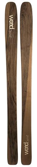 Dodu - Ski en bois personnalisé