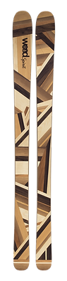 Hihihi - Skis personnalisés en bois - Exemple ski en bois