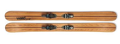 Mohican - Exemple de ski personnalisé en bois