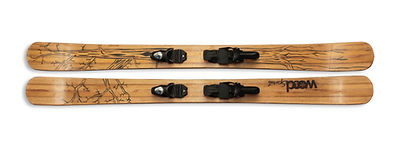 Floopy - Exemple de ski personnalisé en bois