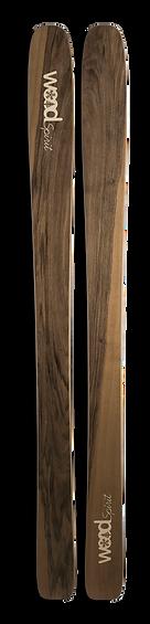Mohican - Ski en bois personnalisé