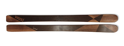 Hihihi -Ski en bois personnalisé