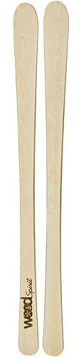 The arrow - Ski en bois personnalisé