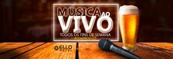 BANNER MUSICA AO VIVO