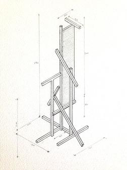 Drawing T-Type (After Kiesler & Krischanitz)