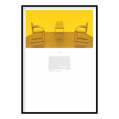 Klagelied Lamento by Céline Berger, (2015) (Yellow)