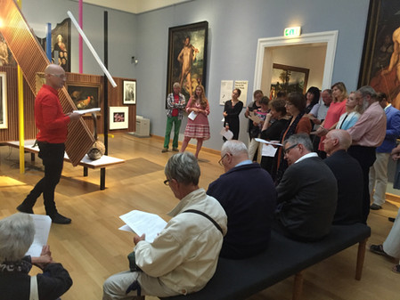 Z is for  ZOO Performance Frans Hals Museum, Netherlands (2016-2017)