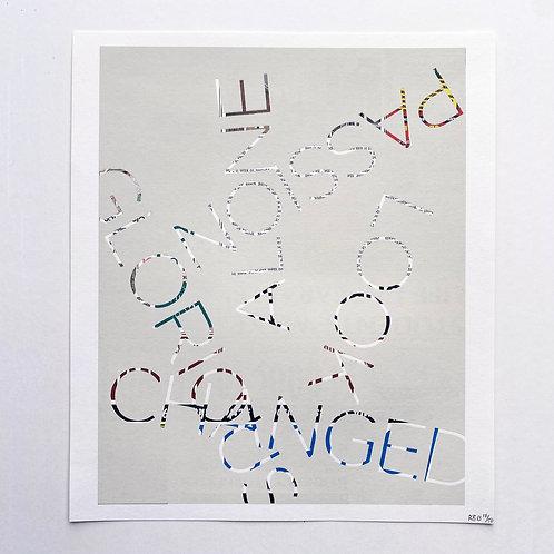 Est 1690 (2013) Untitled, Robert Barry