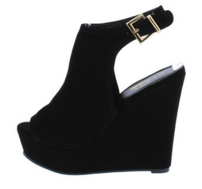 BOA Black Wedge
