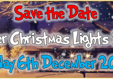 SAVE THE DATE - PORTCHESTER CHRISTMAS LIGHTS SWITCH-ON 2019