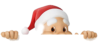 Cute Santa Transparent.png