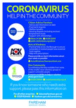 BPC1934 FBC Coronavirus Help A5 poster A