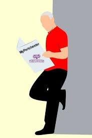 Man Reading MyPortchester