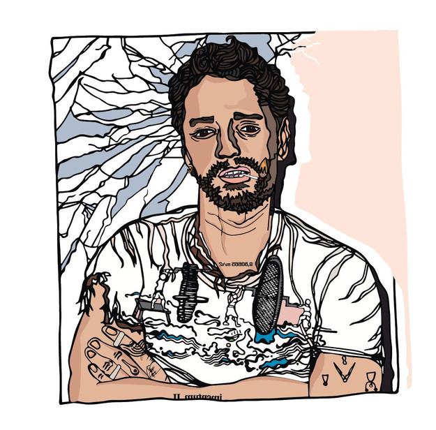 de la main IIIIIYIIIIIAD | dessin GABRIELA ZAPPONI