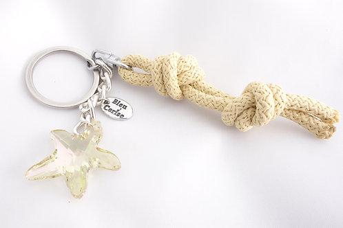 Porte clé étoile de mer