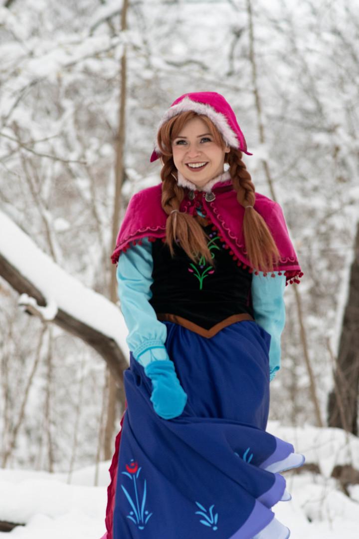 Snow Princess - Travel Dress
