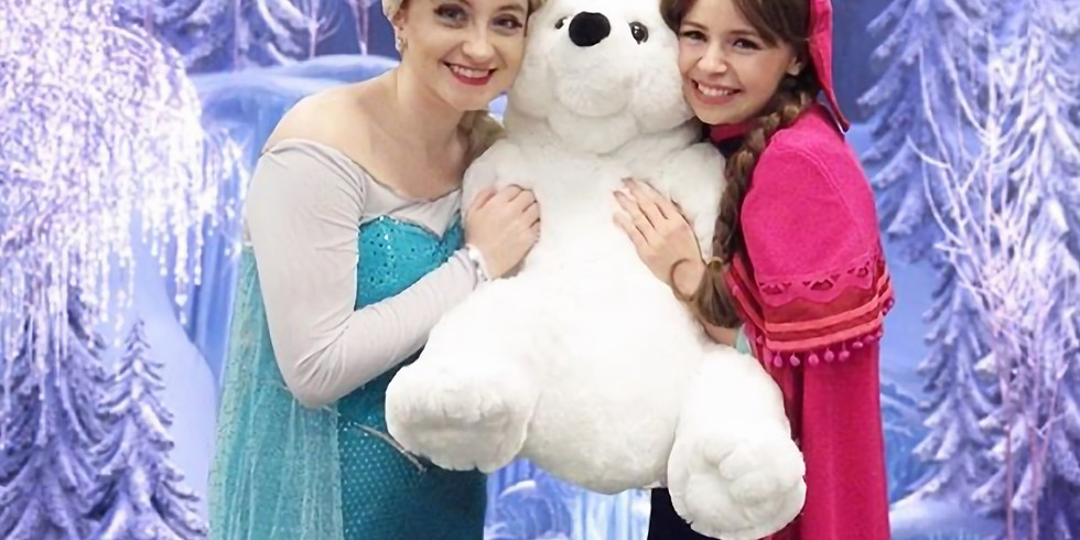 Ballet with a Princess: Snow Queen and Snow Princess