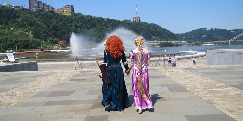 Free! Meet and Greet with the Tower Princess and Brave Princess