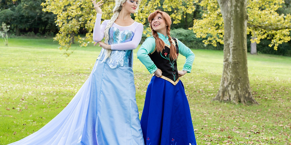 SOLD OUT Princess in the Park: Snow Sisters