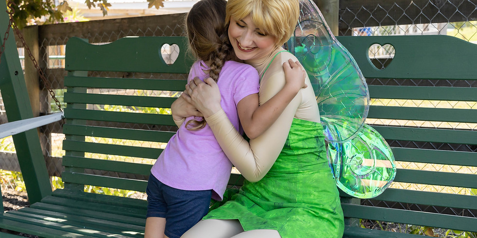 Fairy Tea Party with the Tinker Fairy