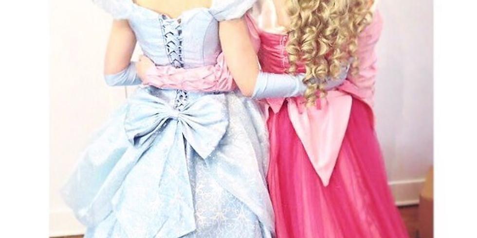 Princesses in the Park: Sleeping Princess