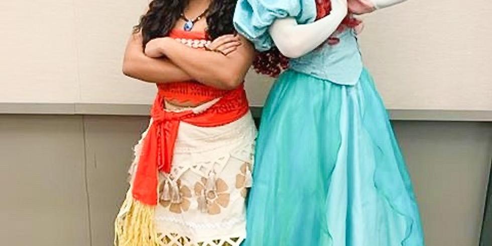 Princess in the Park: Little Mermaid & Island Princess