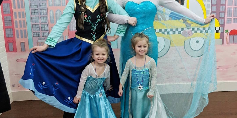 Princess Make-Overs with the Snow Sisters