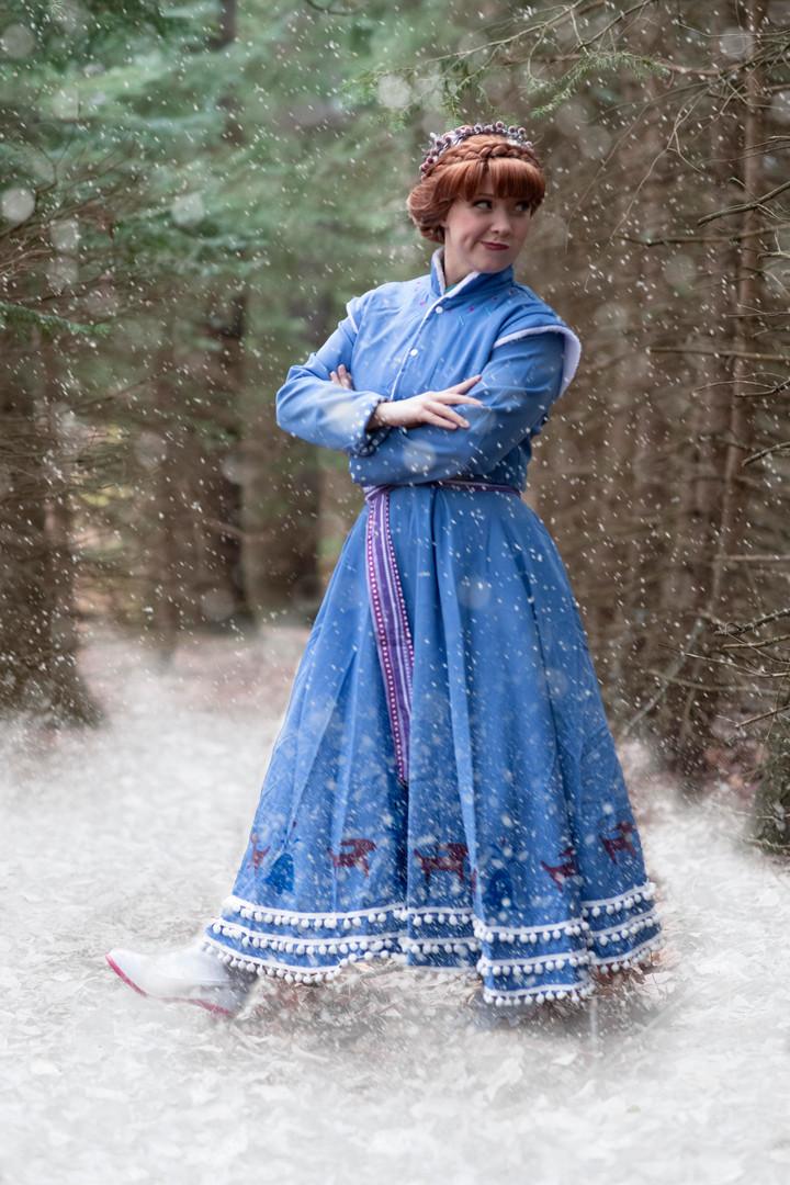 Snow Princess - Holiday Dress