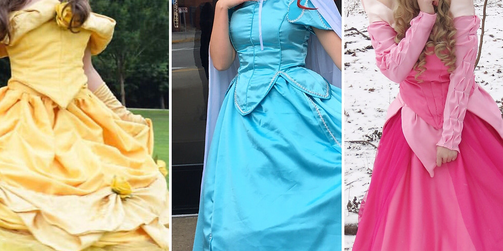 Free! Meet and Greet with Beauty, Little Mermaid, and Sleeping Princess