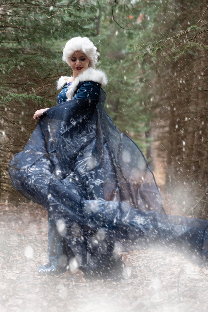 Snow Queen - Holiday Dress