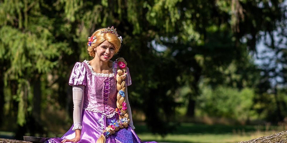Princess & Me Mini Photo Sessions: Rapunzel