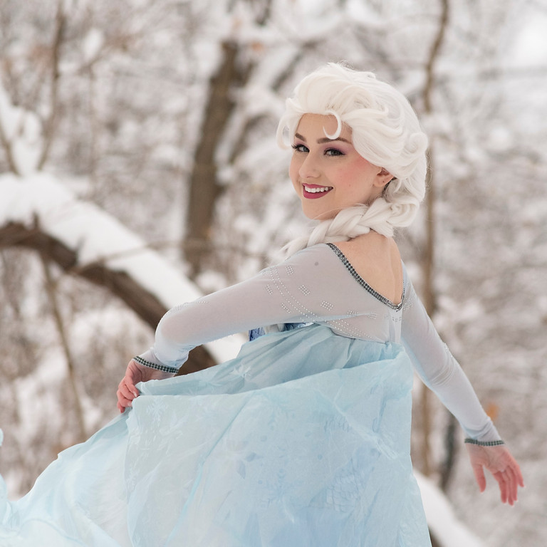 Snow Queen's Make-Over Day