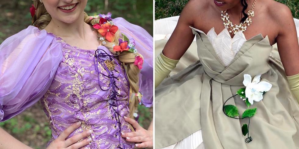 Princesses in the Park: Rapunzel & Frog Princess