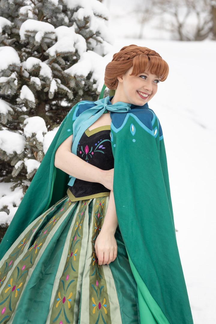 Snow Princess - Coronation Dress