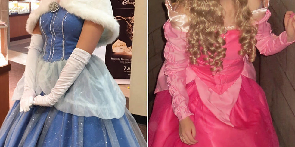 Free! Meet and Greet with Cinderella and Sleeping Beauty