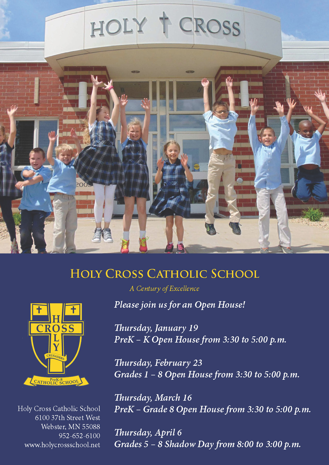 Holy Cross | Newspaper Ad