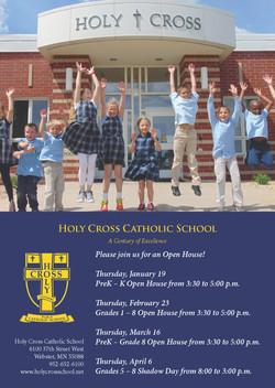 Holy Cross | Newspaper Ad