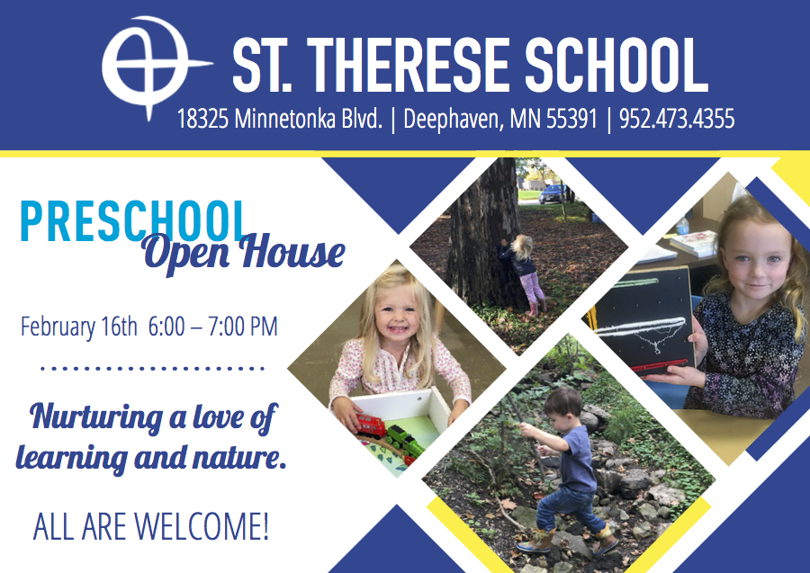 St. Therese | PreK Postcard
