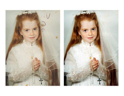 Photo Restoration First Communion