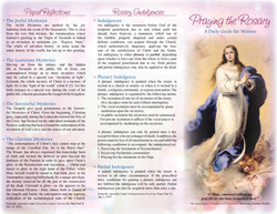 Praying the Rosary - A Daily Guide for Women (Part 1)