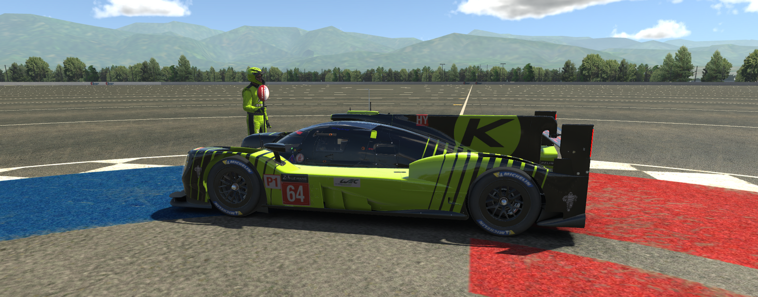 Sideview Of LMP1
