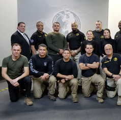 Delegation of high ranking military and police personnel from Brazil.