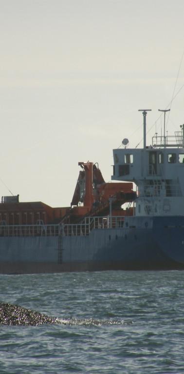 MV Karissa outbound